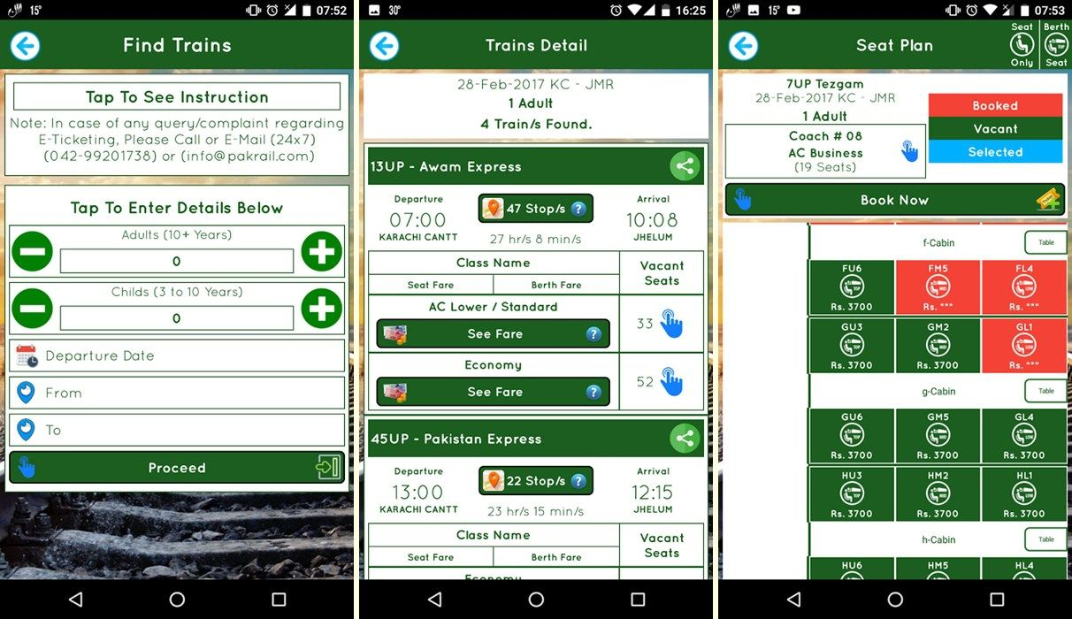 How to Use Pakistan Railways App to Book Train Tickets