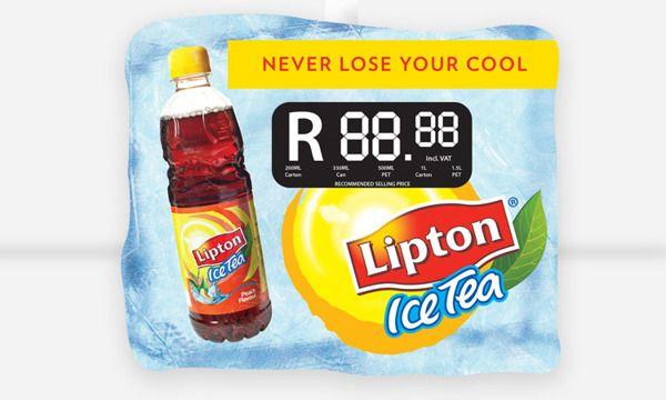 Lipton Ice Tea Point of Sale Design on Behance