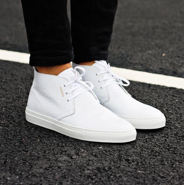 bf085a8e87 White chukka sneaker from Axel Arigato. On sale now - 40% off  axelarigato  axelarigato.com