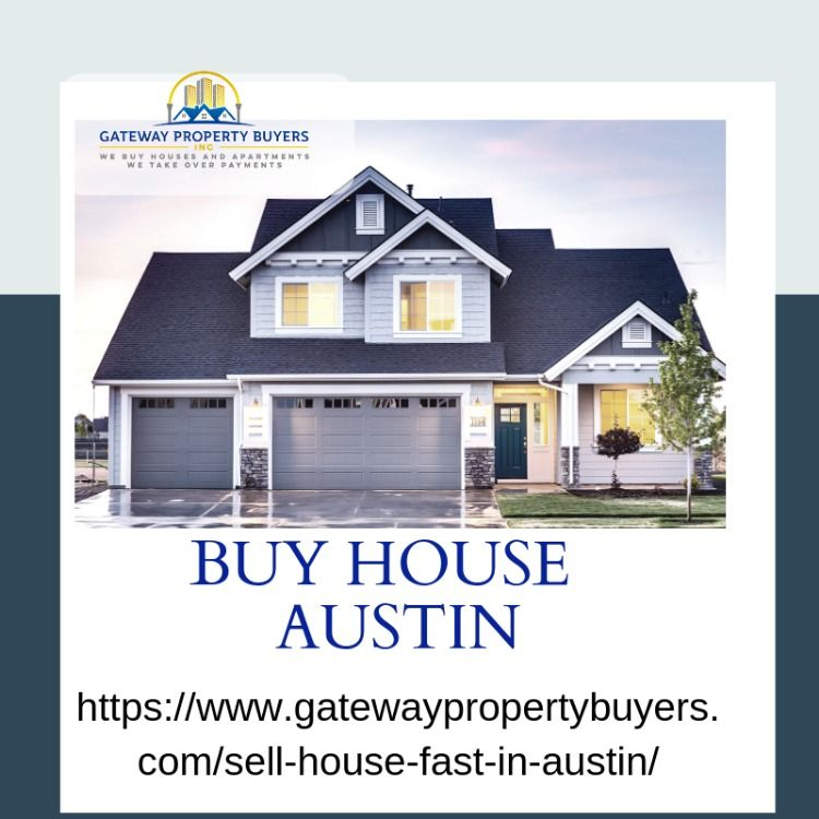 Pin By Gateway Property Buyers Inc On Sell Your House Austin