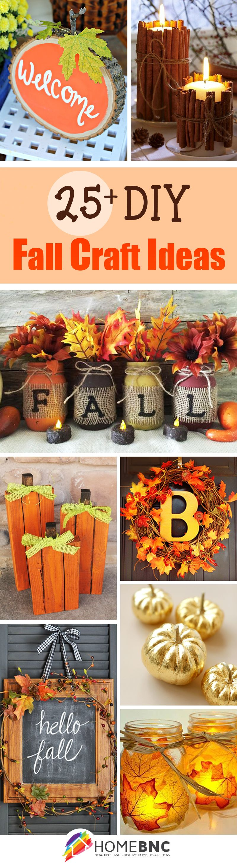 Fall decorating ideas on pinterest - 28 Best Diy Fall Craft Ideas And Decorations For 2016