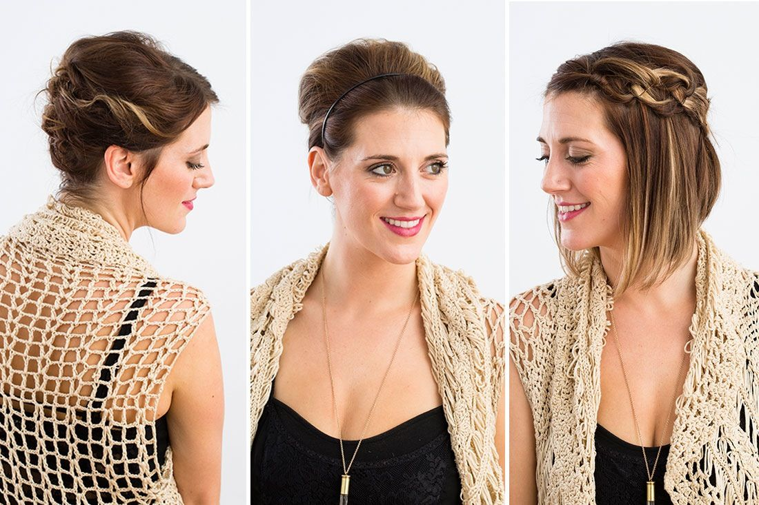 fancy updos for short hair hair style pretty hair and short hair