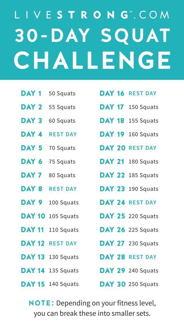 #challenge #squat #the #dayThe 30-Day Squat Challenge The 30-Day Squat ChallengeThe 30-Day Squat Cha...