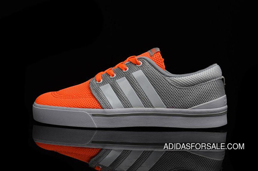 / adidas neo donne grigio - arancione