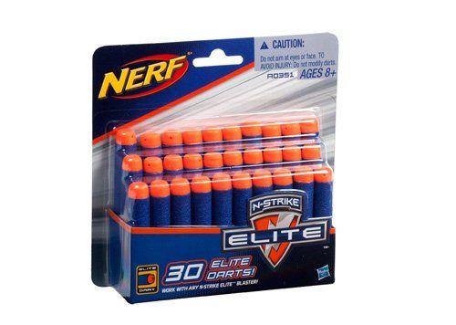 Spielwaren: Nerf A0351148 - N-Strike Elite Darts Nachfüllpack, 30 er - Kaufen Neu: EUR 7,12