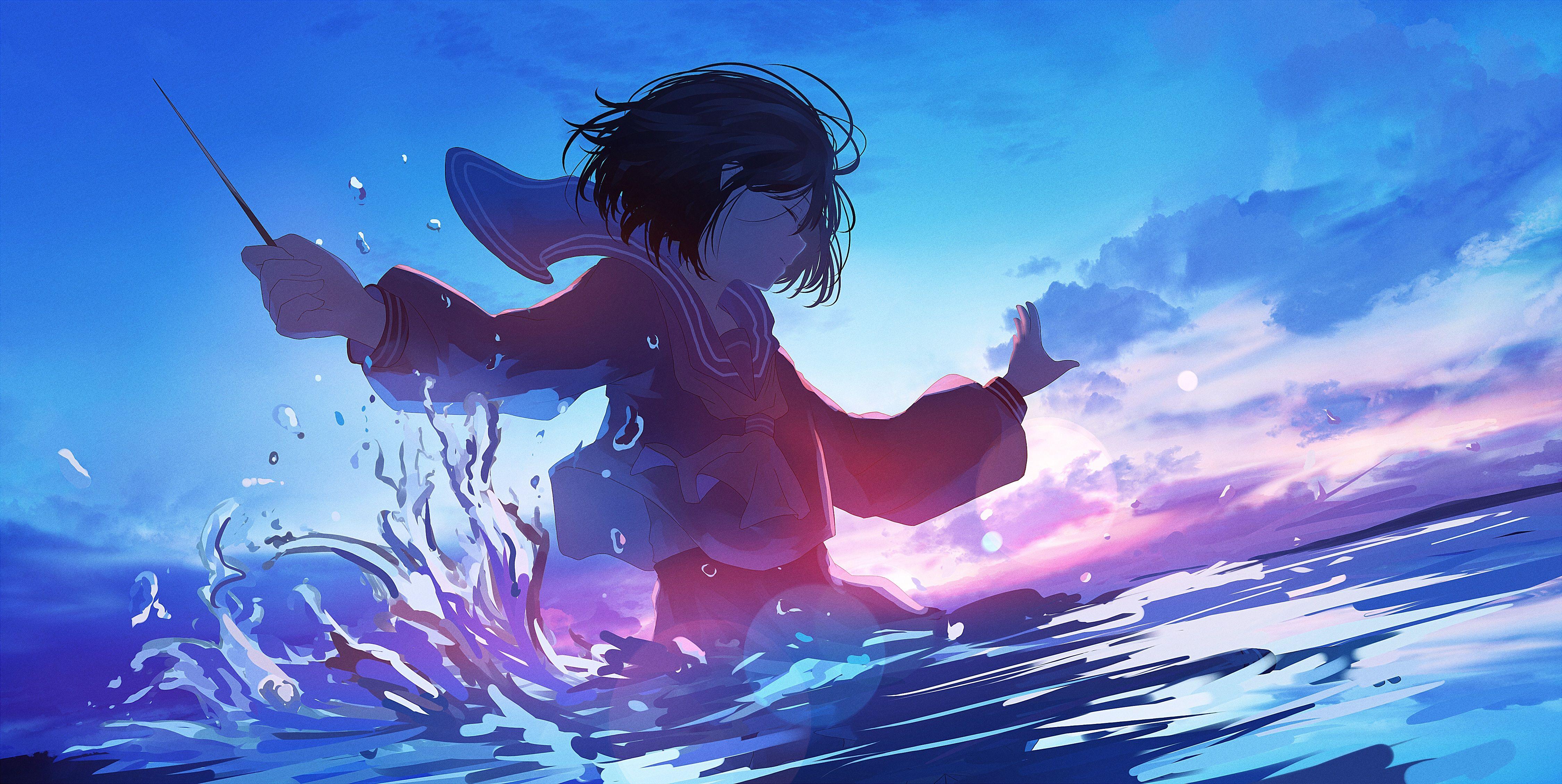 Romantic Anime Wallpaper 4k - Animeindo