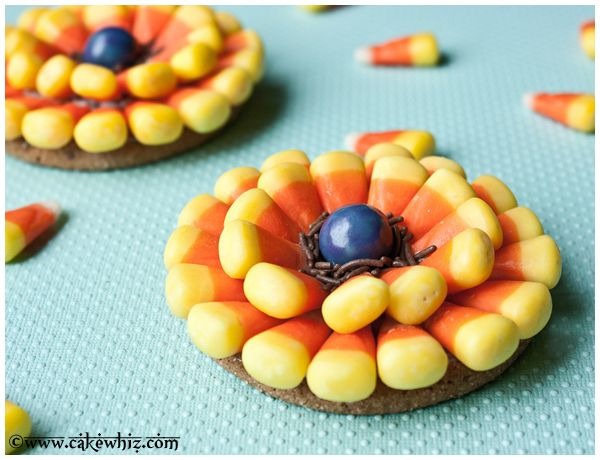 Recipes Using Candy Corn Creative Gift Ideas Candy Corn Flower Cookies Creative Food