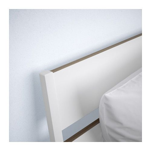 TRYSIL Bed frame White/luröy IKEA | Bed frames and Spaces