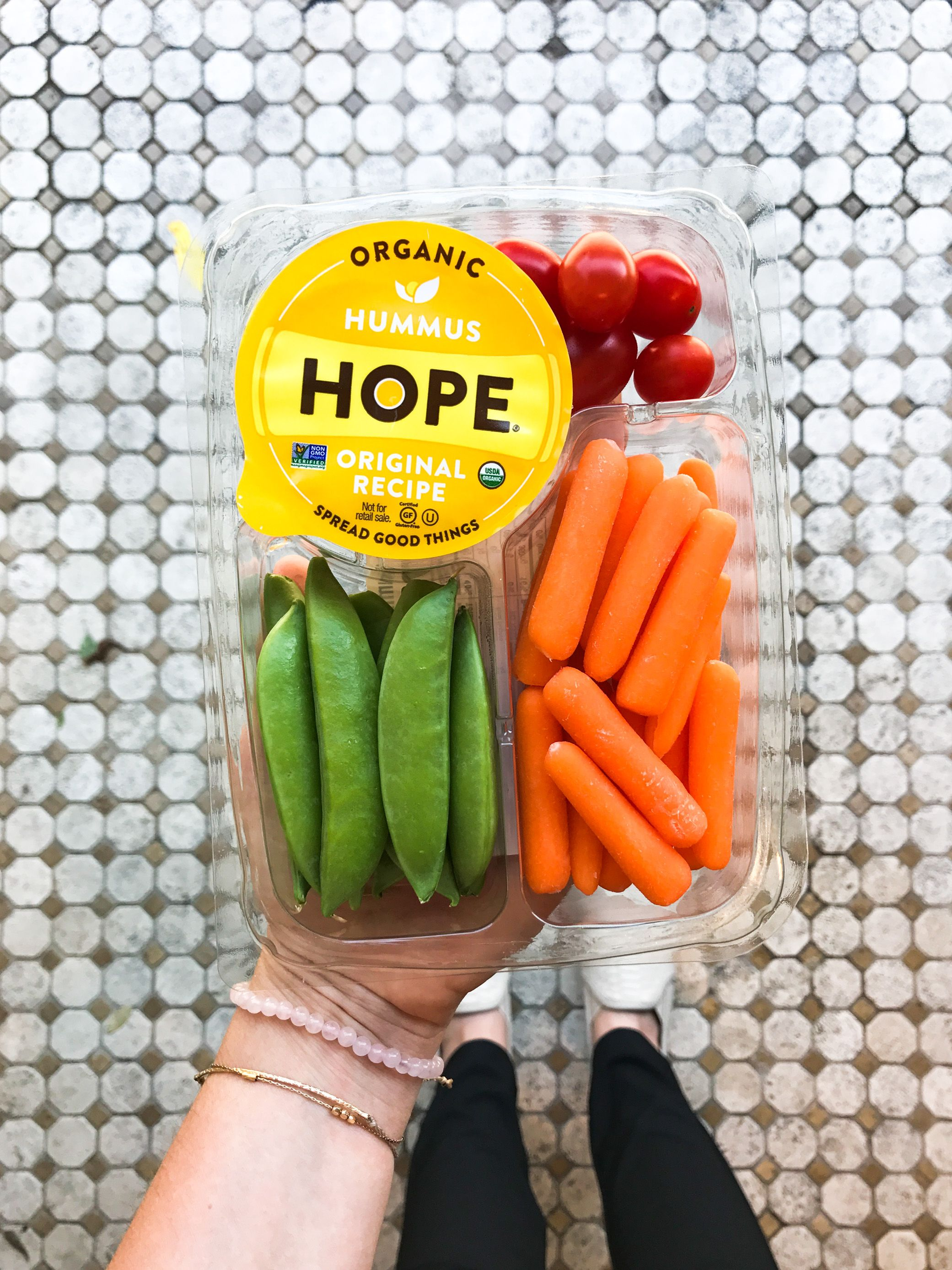 Taylor Farms and Hope Hummus Veggie Snack Packs at