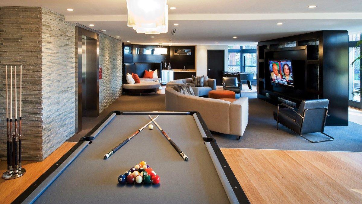 21 Stunning Modern Basement Designs | Modern basement, Basement