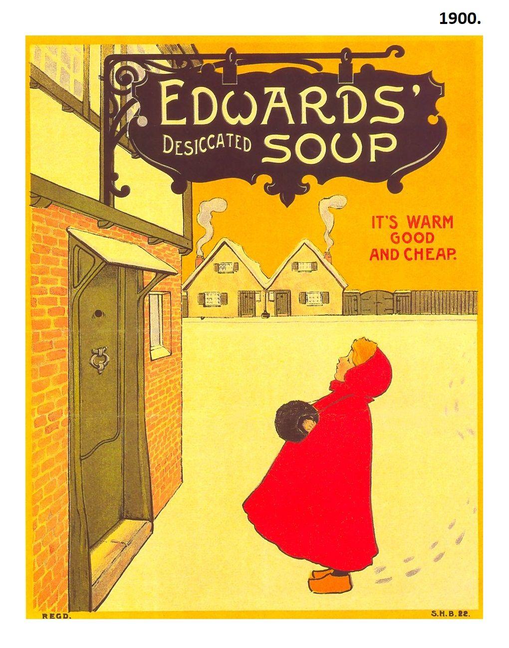 1900 edwards soup poster