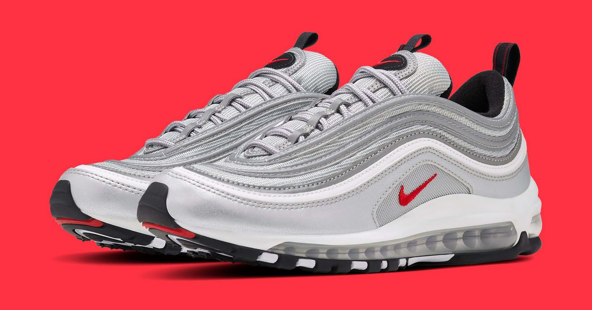 Silver Nike Air Max 97 884421-001