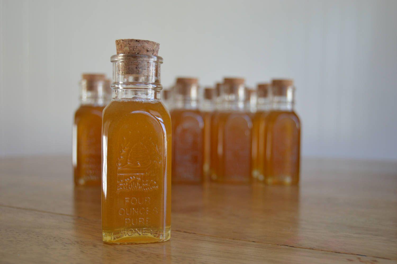 4oz Muth Honey Jar Wedding Favors Mini Honey Jar Vintage Wedding