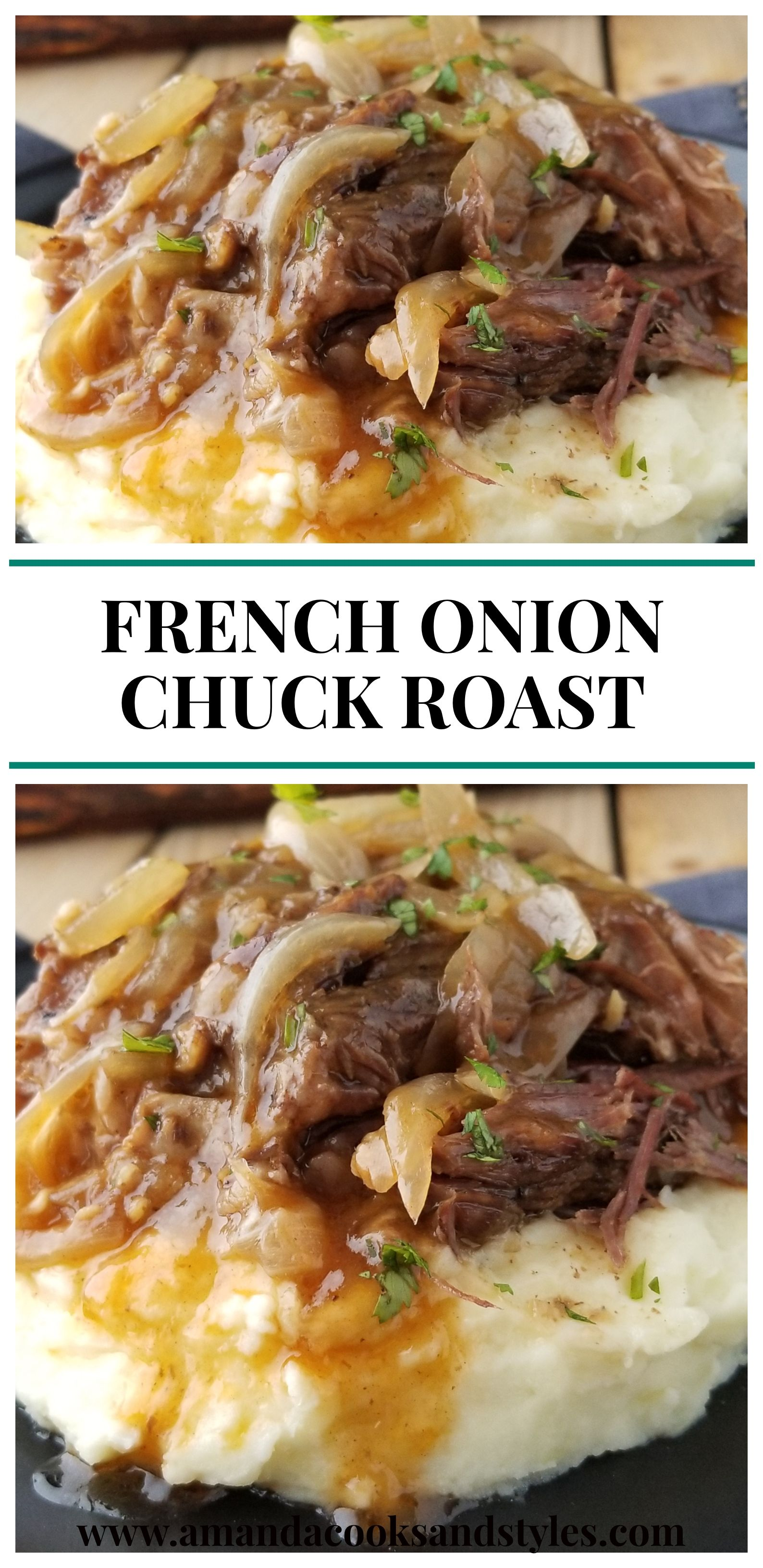 FRENCH ONION CHUCK ROAST