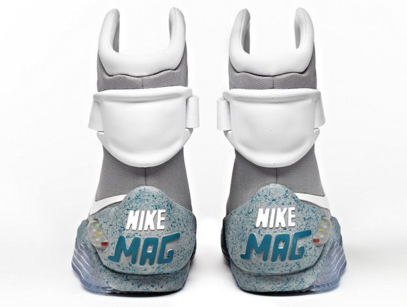 Marty Mcfly Back To The Future Shoes Nike Mag Nike Air Mag