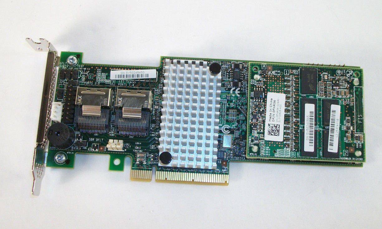 Disk Controllers RAID Cards 56091: Dell Fnr56 Lsi 9265-8I 1G