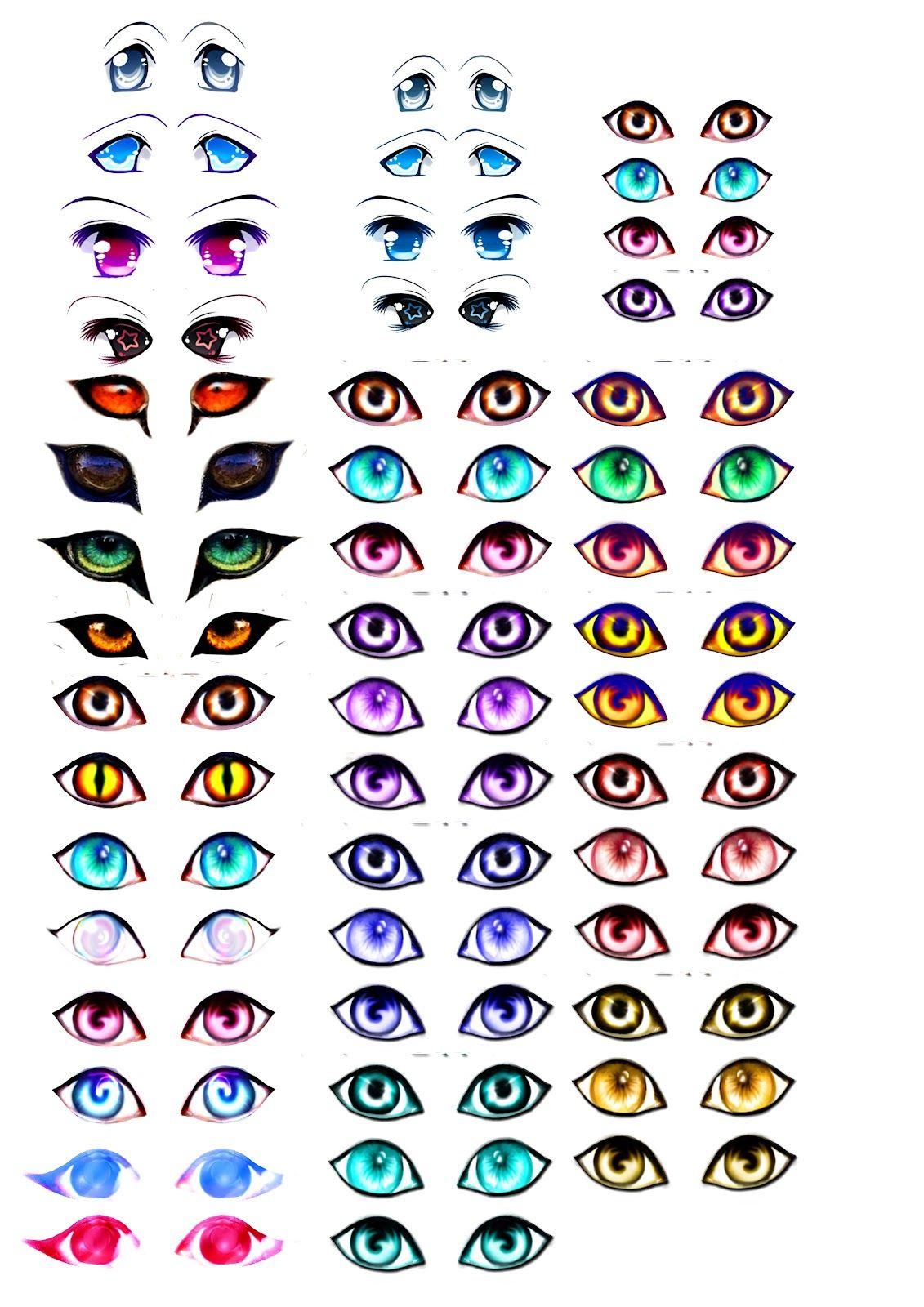eyelist+copy.jpg (1131×1600) Os olhos da boneca, Poses