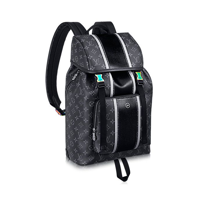 Zack Backpack Monogram Eclipse Flash in Men s Fall-Winter 2017 Highlights  Discover the selection collections by Louis Vuitton 855929238d06b