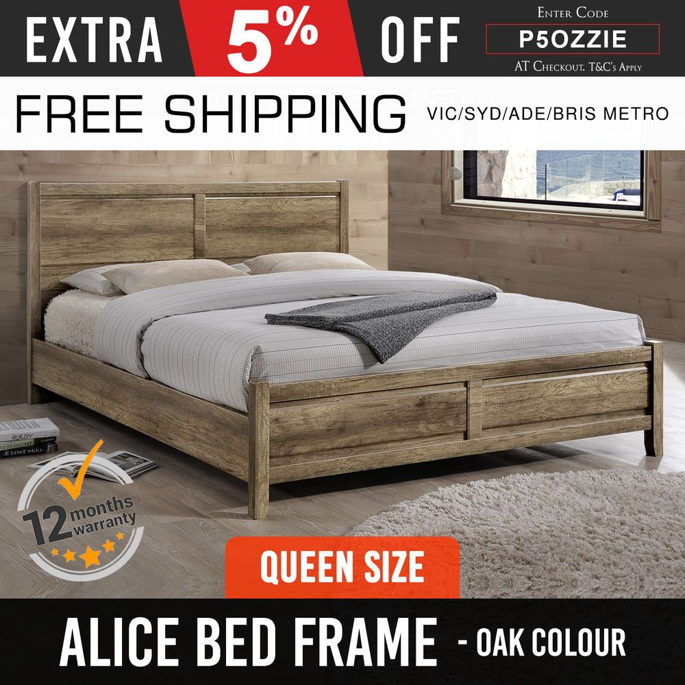 Minimalist Iron Queen Size Bed Frame