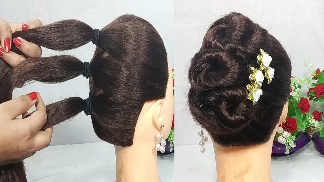 5 Mins Hairstyle for wedding - Kate Wilson's blog