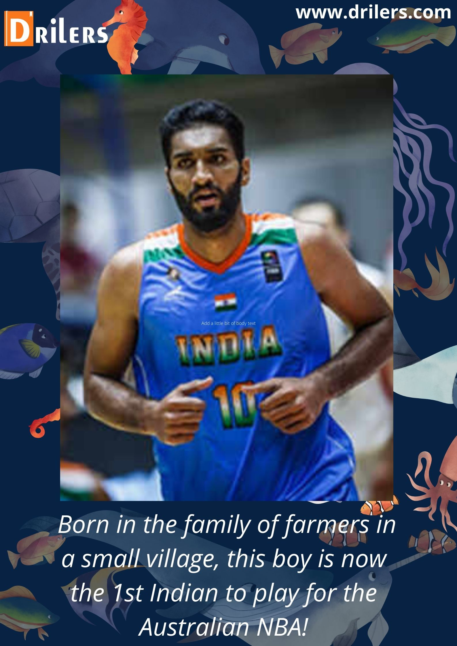 Motivational Stories Of Great Indian Personalities Like Amritpal Singh National Basketball League Basketball Academy Motivational Stories