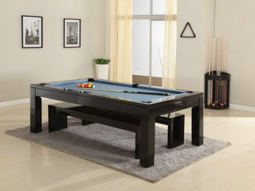 Pool Table Dining Table With Bench Pool Table Designs Pinterest - Pool dining table with bench
