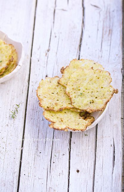 Parmesan zucchini crisps by Išbandyti receptai1, via Flickr