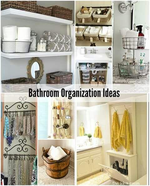 Bathroom Organising Ideas
