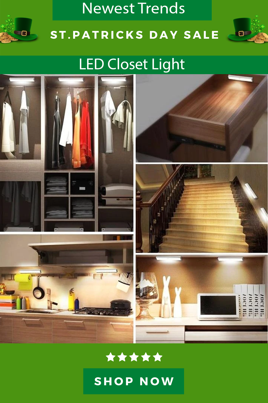 Led Closet Light In 2020 Led Closet Light Closet Lighting