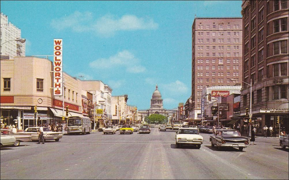 Downtown austin circa 1950s anyone remember woolworths