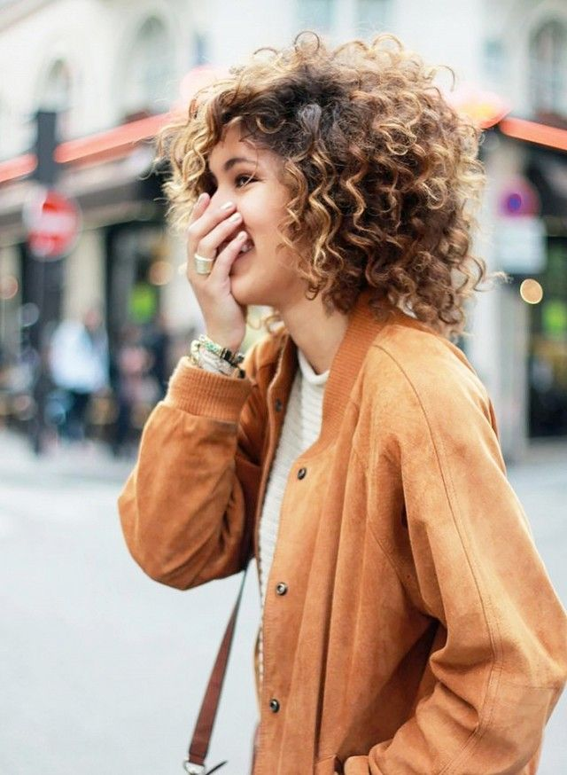 The Best Haircuts for Girls With Extremely Curly Hair | Bobs, Curly ...