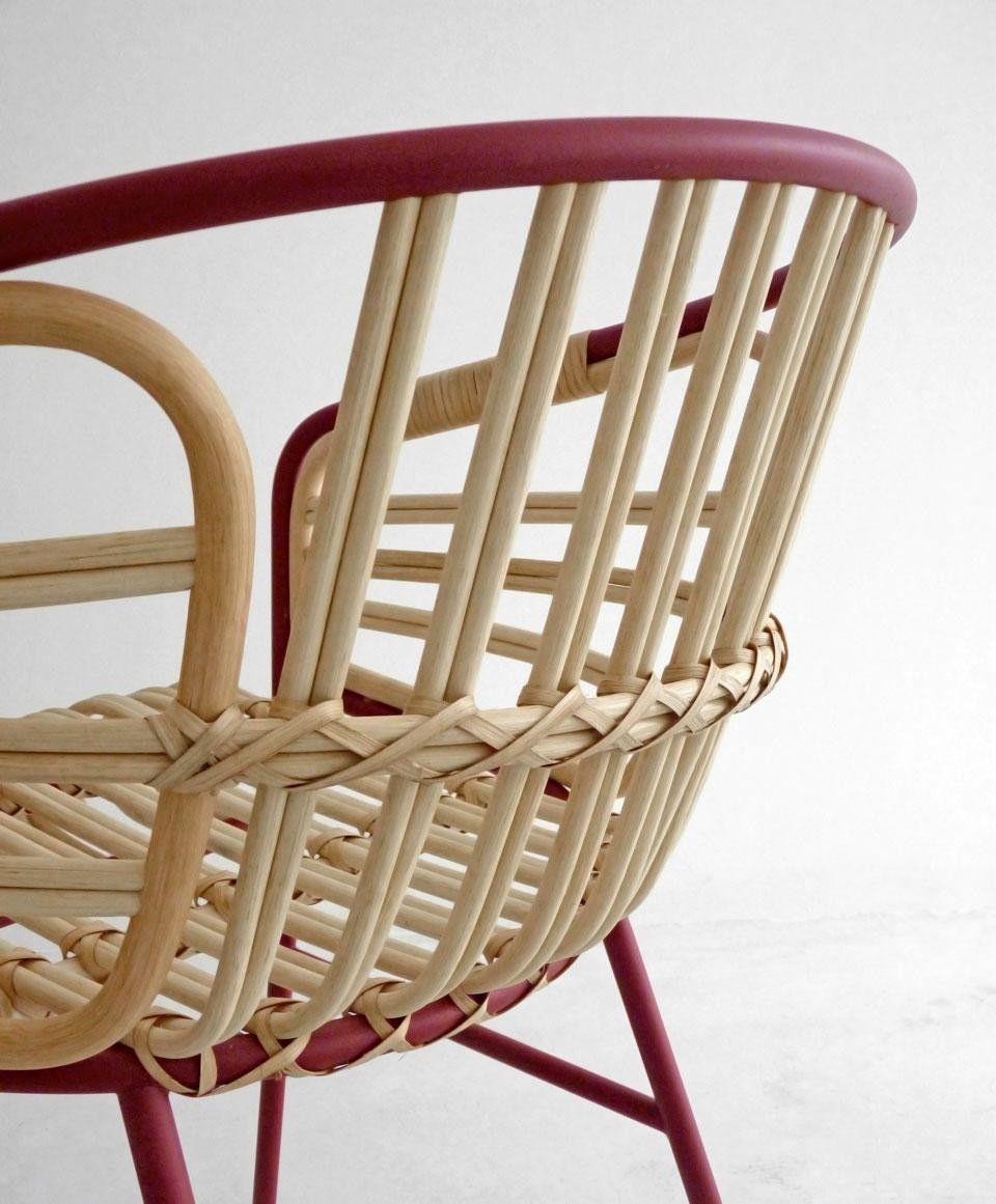 Lucidi Pevere Raphia 竹, 椅子, 家具