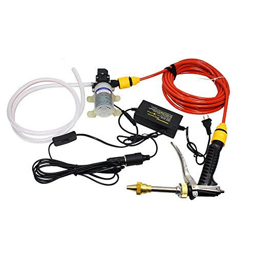 Quora 12v 65w High Pressure Marine Deck Car Washer Wash Water Pump Cleaner Sprayer Kit Want Additional Info Click On The Image Th Car Washer Spray Hose Car Wash