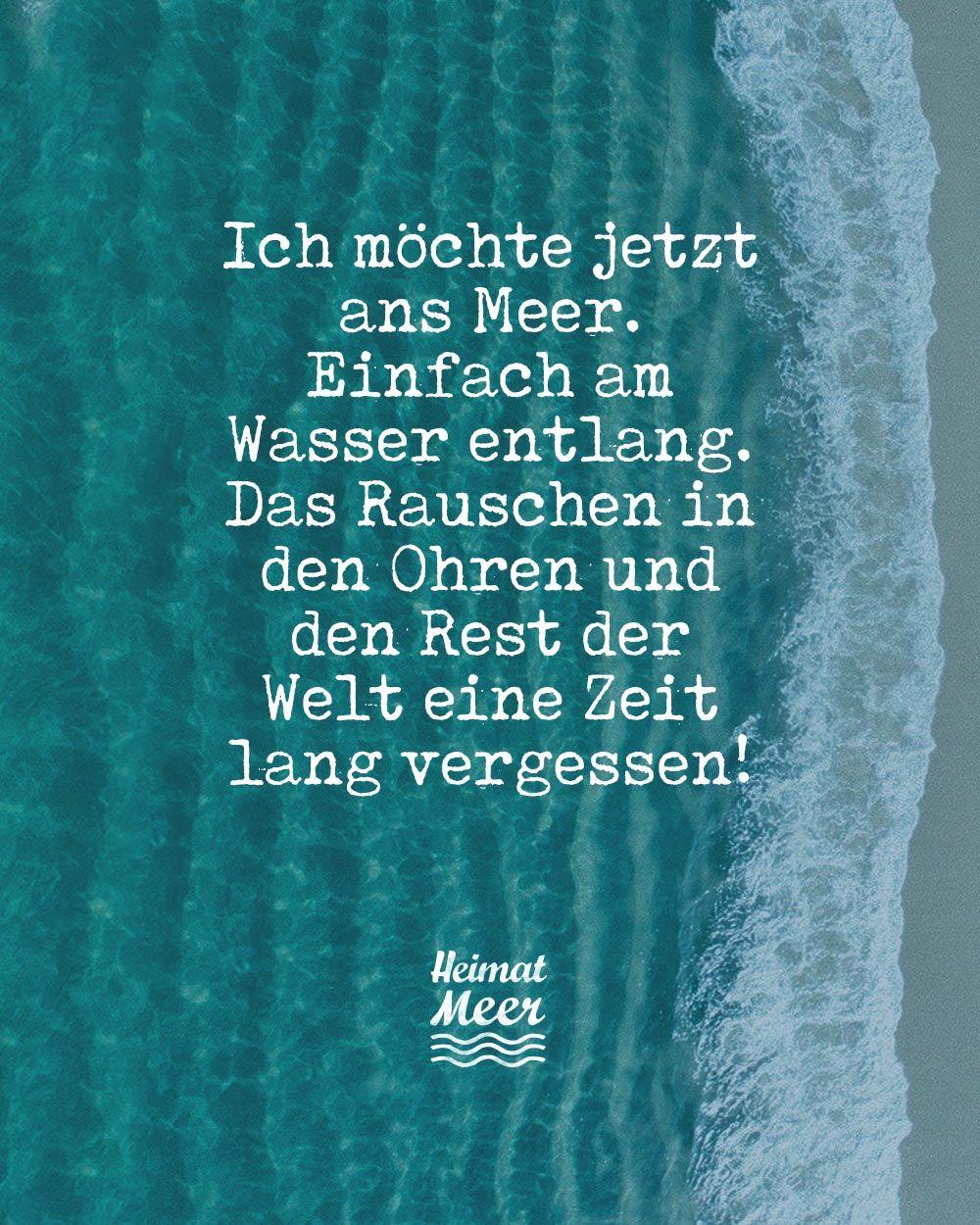 Ich möchte jetzt ans Meer...🌊Mehr vom Meer >>   Aufmunternde ...
