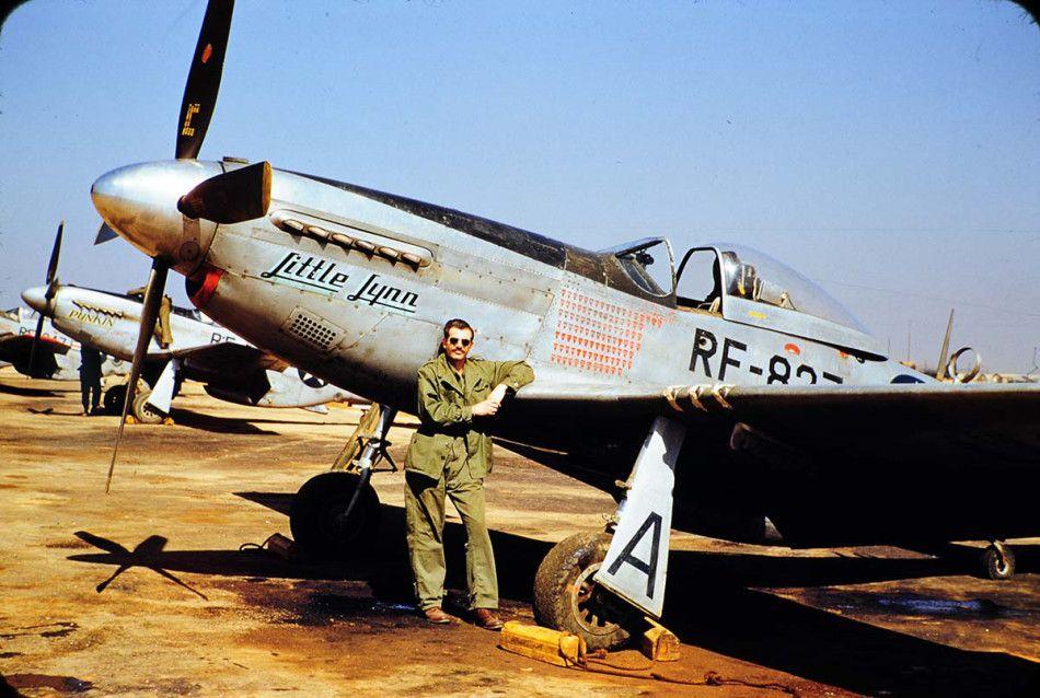 RF51 'Little Lynn' of 45th Tac Recon Squadron, Kimpo