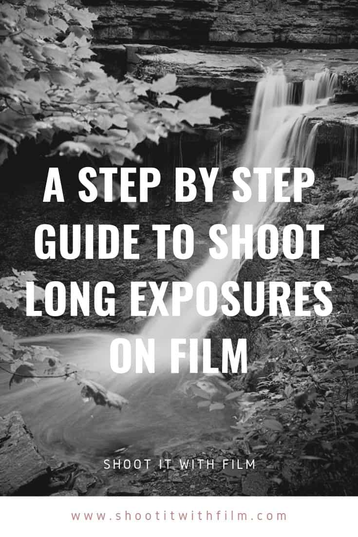 A step by step guide for how to shoot long exposures on film - Long Exposure Film Photography Tutorial » Shoot It With Film #shootitwithfilm #filmisnotdead #ishootfilm #analogphotography #filmphotography #analog #mediumformat #35mm #35mmfilm #35mmfilmphotography #kodak #kodakfilm