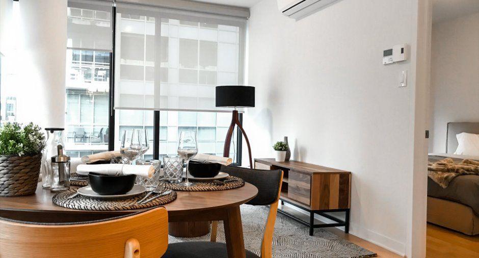 Promotion 1 mois GRATUIT! Appartement non-meublé, 2 chambres, 1 min
