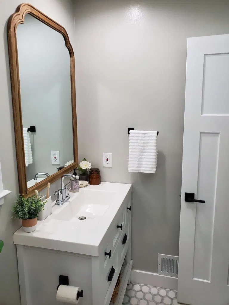 Timeless Bathroom reveal (With images) Timeless bathroom