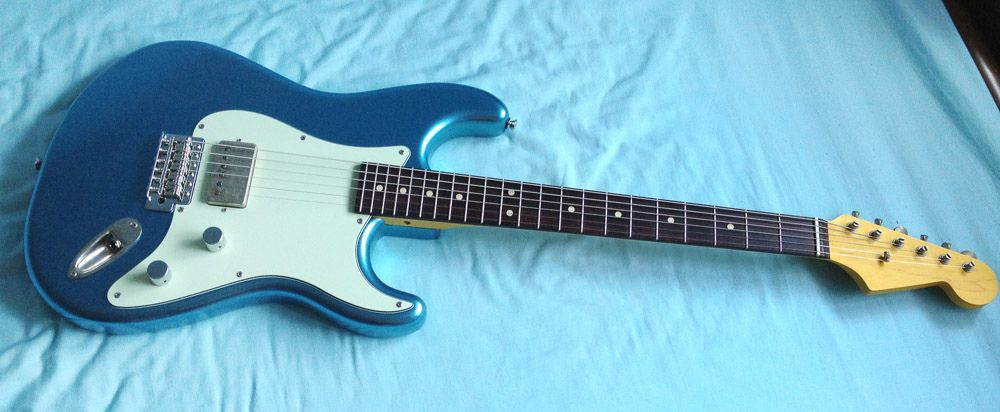 Wts Wtt Short Scale Single Humbucker Stratocaster Guitar Design Electronic Parts Squier