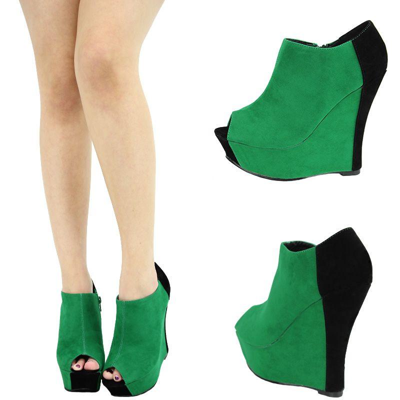 e0d01569ff6 green Wedges
