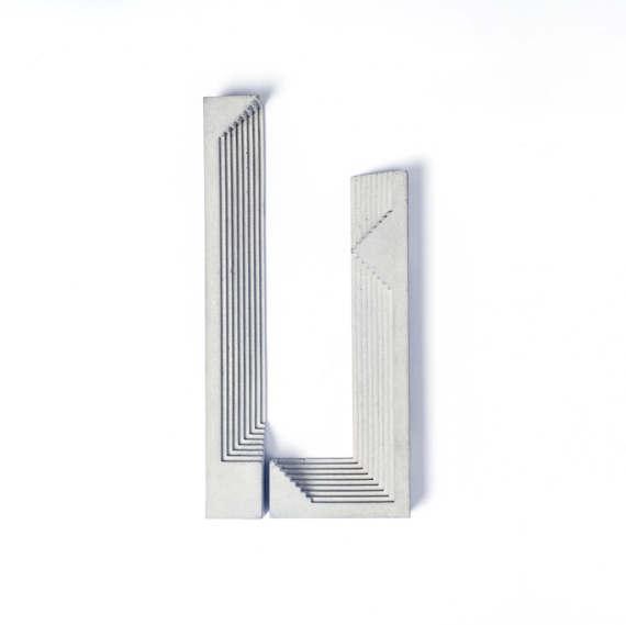 Grey Concrete Handle 3 Tall Wardrobe Handles Architectural Etsy In 2020 Door Handles Concrete Decor Concrete