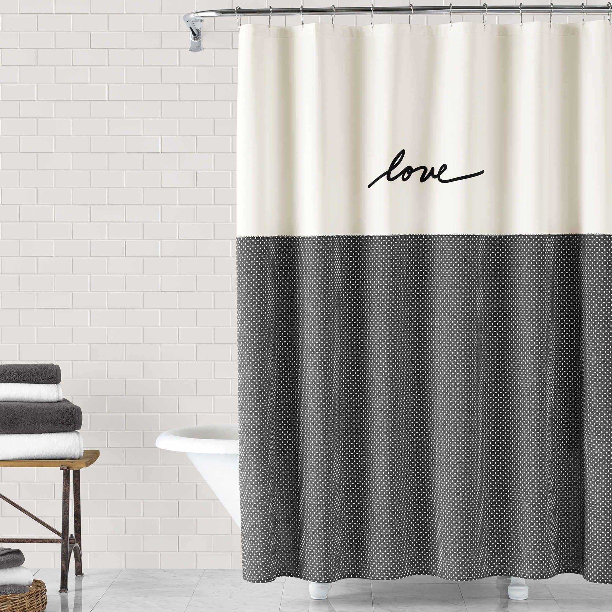 Pdp Main Image Bathroom Shower Curtains Long Shower Curtains