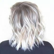 Coupe courte blod polaire ♥♡ | Cheveux, Cheveux blond et Cheveux blond platine
