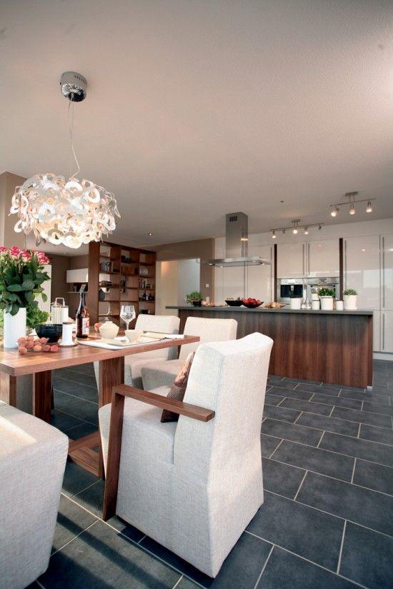Fertighaus Wohnidee Küche und Esszimmer MEDLEY 300 Wohnideen Küche