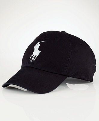 Casquettes De Sport · Vêtements Pour Homme · Ralph Lauren Hat, Classic  Chino Big Pony Sport Cap - Mens Polo Ralph Lauren - 55182af1d47