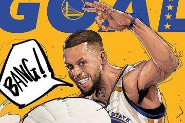 473018b74a99 Kobe Bryant x Michael Jordan x LeBron James Illustration – Hooped Up ...