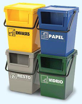 Minimax 35 y 50 l selectivos cubos basura pinterest - Cubos de basura para reciclar ...