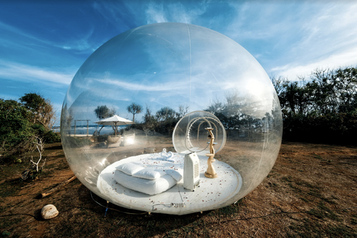 7 Places You Can Sleep In A Bubble Under The Stars Or Northern Lights Bali Bubbles Hotel