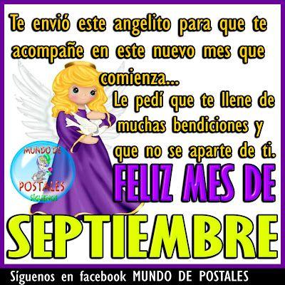 Mundo De Postales Feliz Mes De Septiembre Feliz Mes