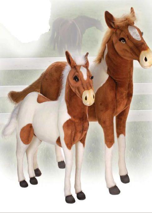 Horses Farm Theme Decor Stuffed Animals From Big Furry Friends